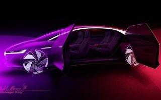 Thị trường xe - Volkswagen I.D. VIZZION - Siêu phẩm chạy điện 'quên' vô lăng