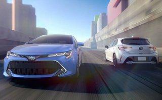 Thị trường xe - Toyota Corolla Hatchback 2019 'đe dọa' Honda Civic, Mazda3
