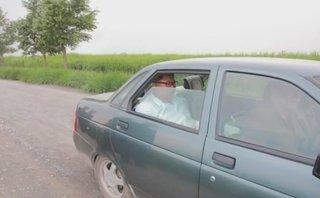 Thú chơi xe - Nhà lãnh đạo Triều Tiên ngồi xe Lada Nga đi thăm đơn vị quân đội