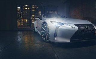 Thị trường xe - 'Nghẹt thở' trước xe mui trần tuyệt đẹp Lexus LC