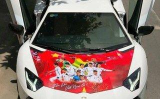 Thú chơi xe - Dàn 'quái xế', siêu xe thi nhau độ cực chất cổ động U23 Việt Nam