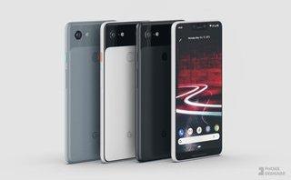 Sản phẩm - Google Pixel 3 XL lộ hình ảnh thiết kế 'tai thỏ' như iPhone X