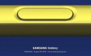 Sản phẩm - Samsung gửi thư mời độc đáo, hẹn ra mắt Galaxy Note 9 vào ngày 9/8