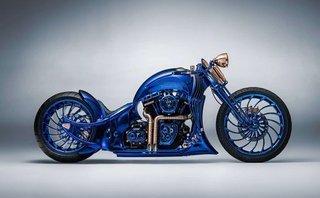 Thú chơi xe - Lóa mắt với 'quái thú xanh' Harley Davidson giá 44 tỷ đồng