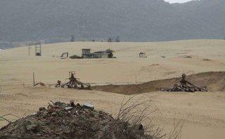 Điểm nóng - Bình Định: Doanh nghiệp khai thác ti tan phá đường dân sinh và xâm thực đất rừng