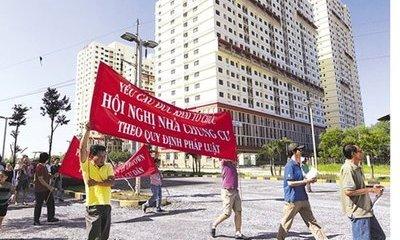 Nhức nhối tình trạng tranh chấp chung cư tại TP. Hồ Chí Minh