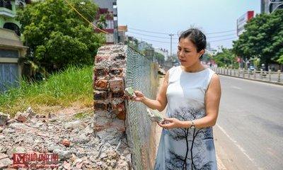 Văn hoá - Hoạ sĩ Nguyễn Thu Thuỷ tác giả con đường gốm sứ nói về việc 600m tranh gốm sứ bị phá?