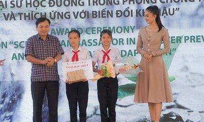 Phim ngắn của học sinh lớp 7 giành giải đặc biệt cuộc thi phòng chống thiên tai