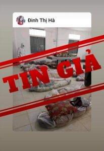 Hình ảnh xác chết do Covid-19 tại TP. HCM là tin giả