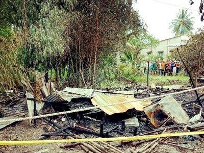 Cụ ông 80 tuổi bị tai biến tử vong thương tâm trong vụ cháy nhà ở Cà Mau