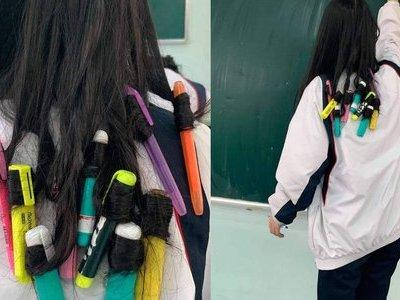 Nữ sinh gây sốt vì ý tưởng làm tóc mới dịp Tết siêu
