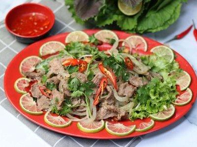 Món ngon cuối tuần: Salad bò tái chanh thanh mát cho ngày nắng lên