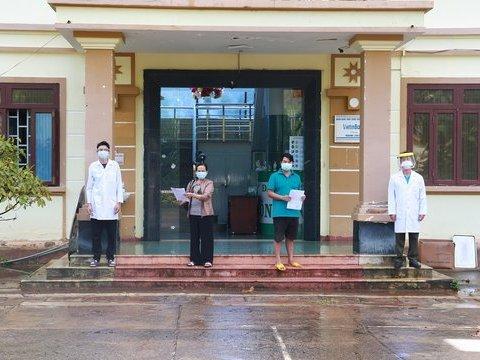 Hai bệnh nhân mắc Covid-19 ở Đắk Nông được xuất viện