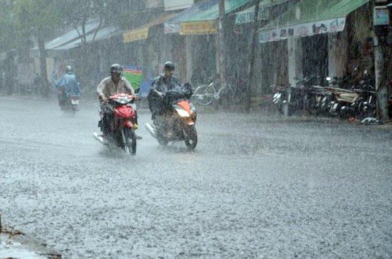 Dự báo thời tiết 15/8/2021: Miền Bắc có mưa to